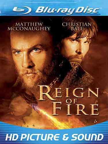 REIGN OF FIRE BY BALE,CHRISTIAN (Blu-Ray)
